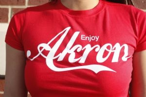 28 best images about akron ohio gear on map