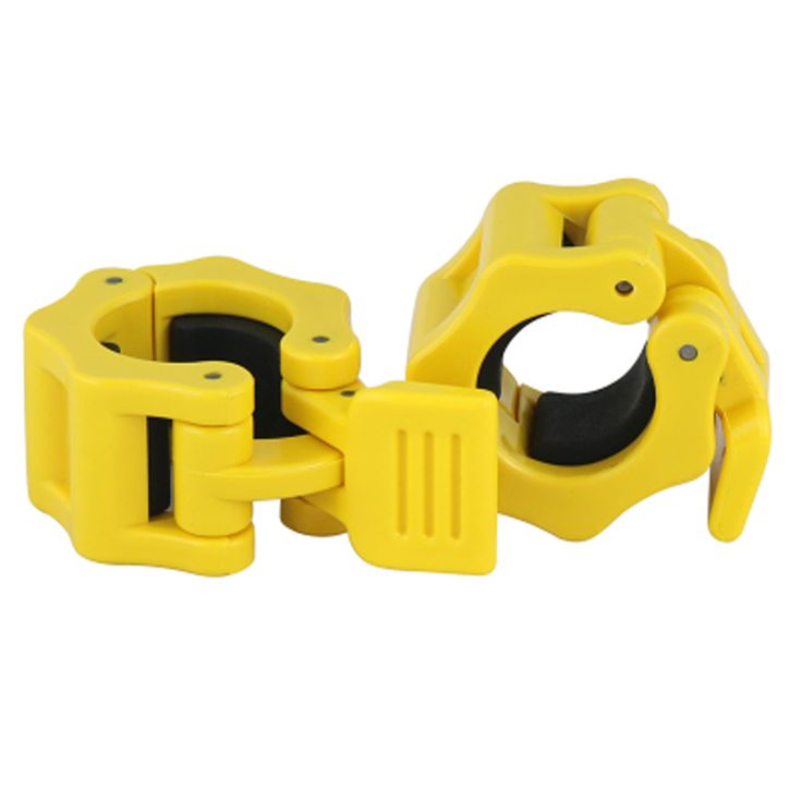 Diameter 25mm Barbell Quick Lock Buckle Gym Kit Weight Lifting Lightweight Portable Plastic Material Durable Ant  2pcs/lot
