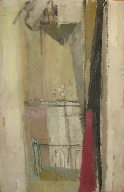 Adriena Šimotová: Okno ateliéru /1958