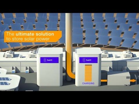 (100) SaltX Energy Storage Technology - enabling continuous production from Concentrated Solar Power - YouTube