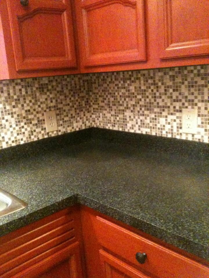 Countertops After We Used Rust O Leum Countertop