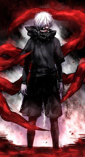 Si lo se si no has visto este anime , pensaras que es de miedo pero no es asi . POR CIERTO la cosa esa negra que lleva en la cara es una mascara.