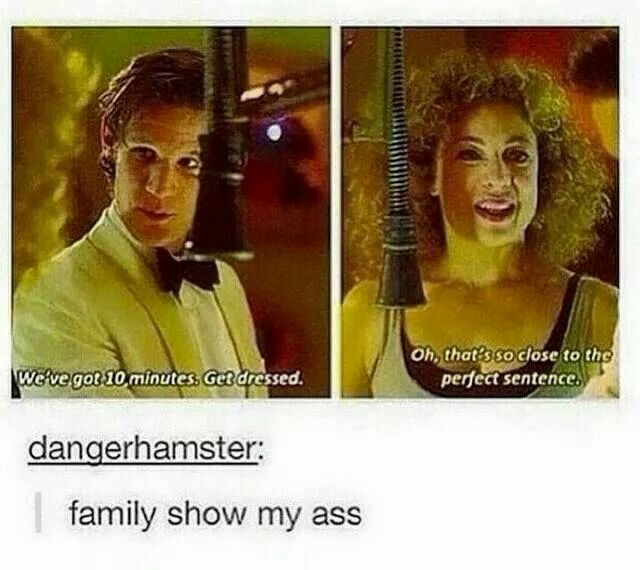 Eleven and River. Oh the hidden innuendos.