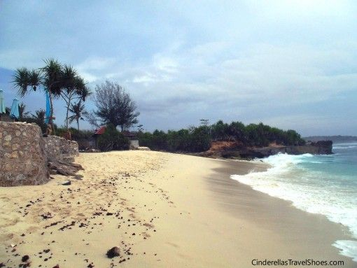 Cloudy afternoon on Dream Beach, Lembongan