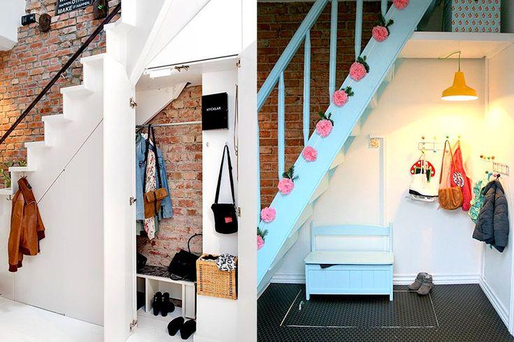 25 beste idee n over een boekenkast inrichten op pinterest boekenplank styling boekenplanken - Idee kast onder helling ...