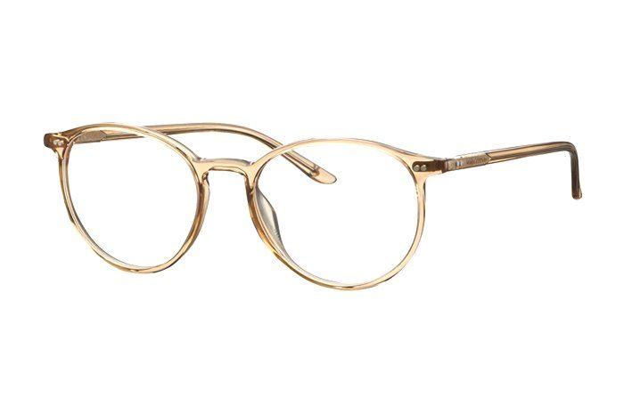 Marc O Polo 503084 80 Brille In Gold Transparent Brille Gold Brille Brille Stil
