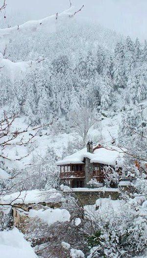 Winter fairytale....Karya, Argolida (Peloponnes), Greece