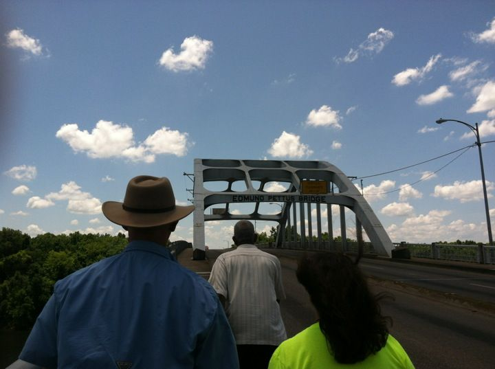 Capital Trailways now goes to Selma, so you can spend the day in the town and walk over the historic bridge.