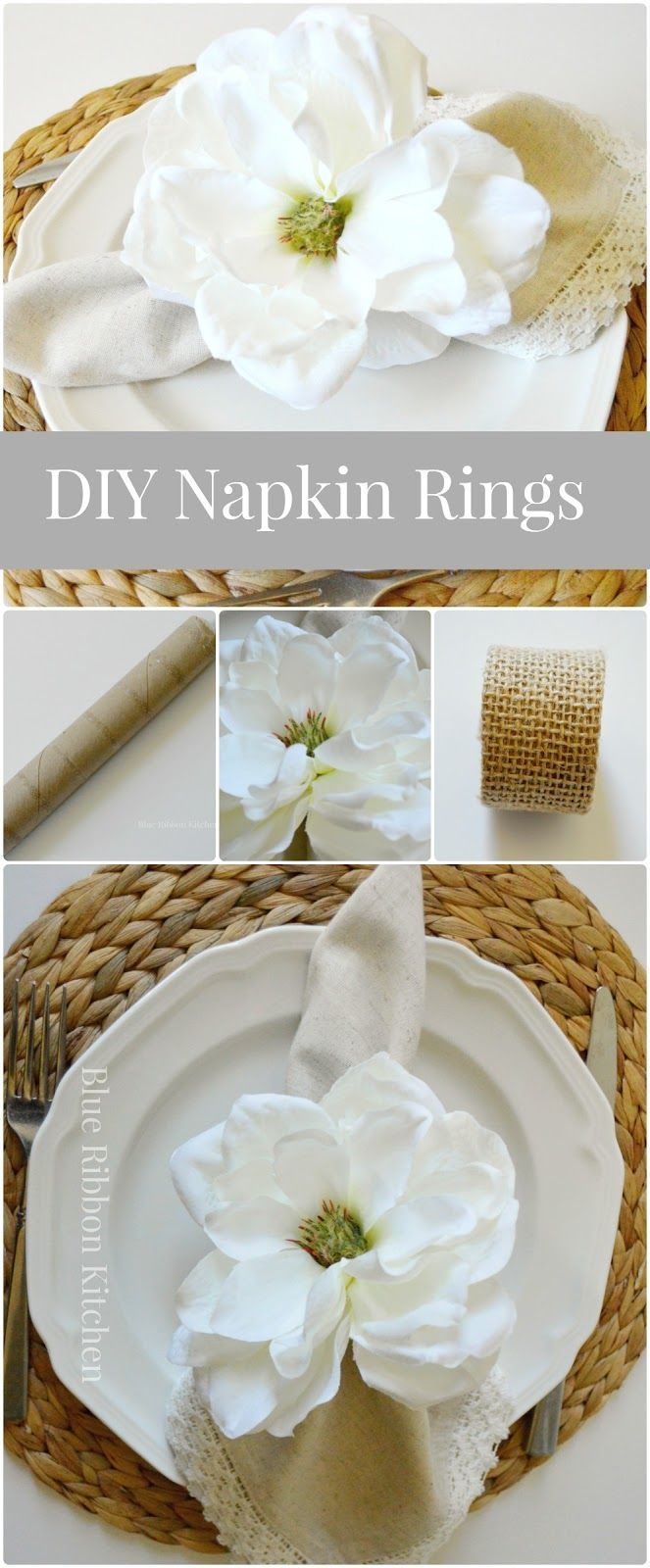 Best 25+ Wedding napkin rings ideas on Pinterest | Napkin ...