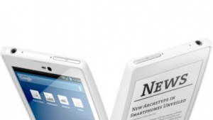 YotaphoneTouchscreen-Smartphone mit zusätzlichem E-Paper-Display