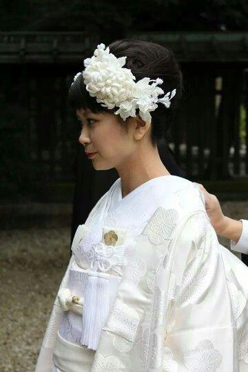 菊のヘッドドレス
