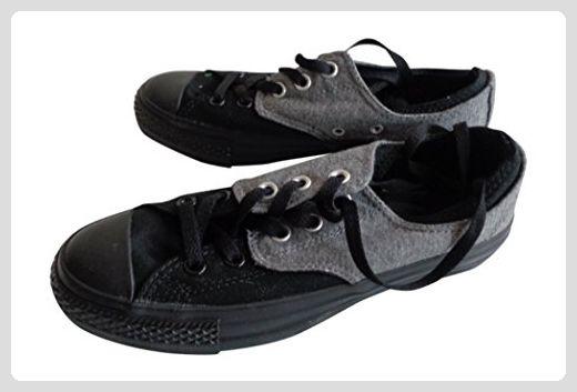 Converse Damenschuhe All Star Double Upper, Schwarz, 37.5 - Sneakers für frauen (*Partner-Link)