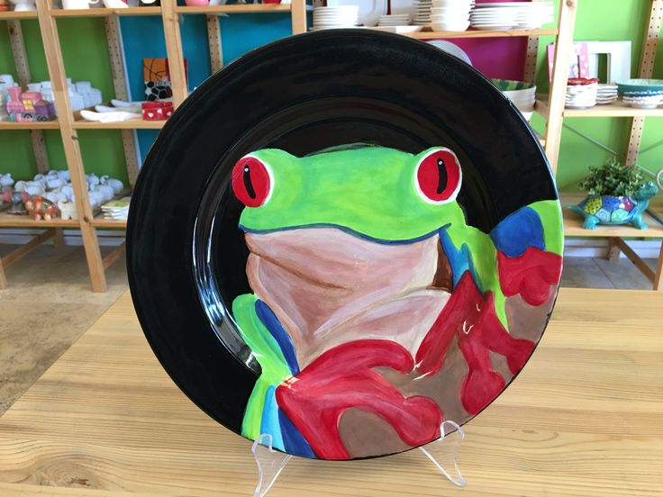 Painter of the Month (July) | Colour My Pot #painteroffhemonth #customerartwork #plates #painting #handpainted #colourmypot #paintyourownpottery #pyop