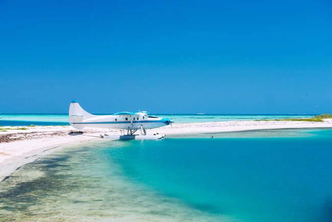 Cool places to visit in the U.S.A including #30.) Garden Key, Dry Tortugas National Park, Florida #bucketlist