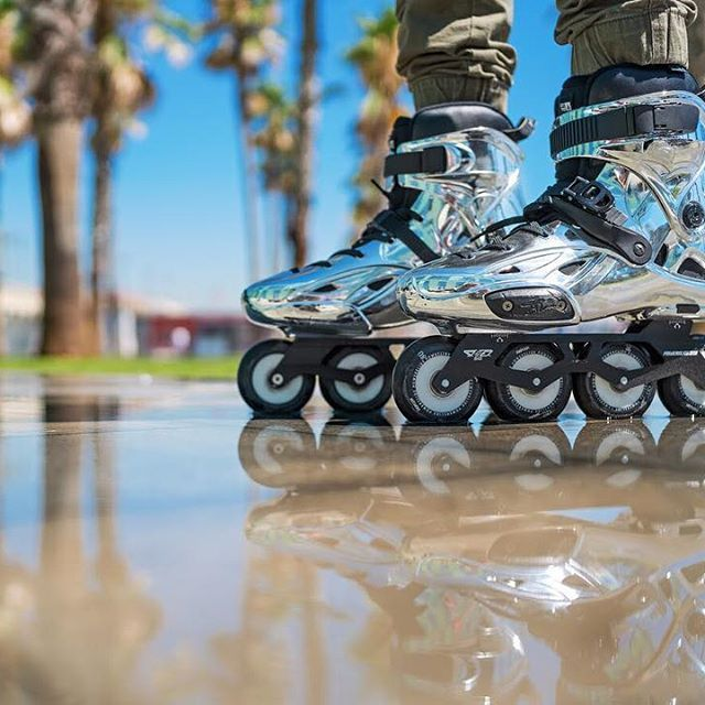 It's time to shine!!! The 2017 Powerslide Imperial EVO are now available.  Make sure you surf our website www.powerslide.com for the full specs of this Urban Inline skates .  #welovetoskate  #powerslide #inlineskate  #powerslideurban