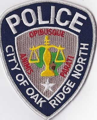 Oak Ridge North TX. police patch