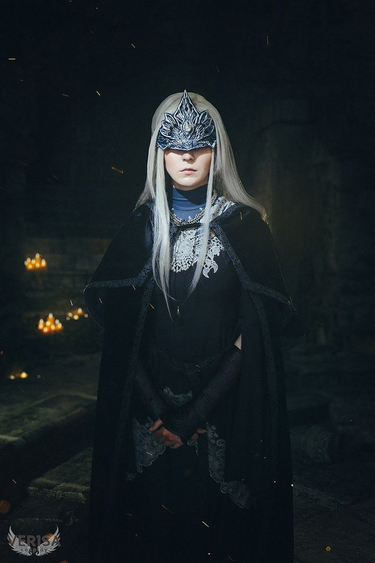 Welcome to the bonfire (Fire Keeper Cosplay from Dark Souls III) by ver1sa.deviantart.com on @DeviantArt