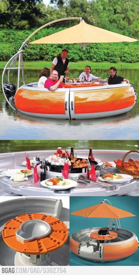 BBQ floatie