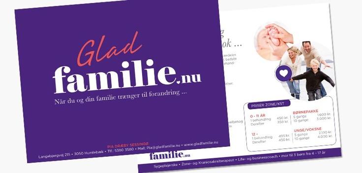 Udvikling af visuel identitet for Gladfamilie.nu https://www.facebook.com/37DesignStories