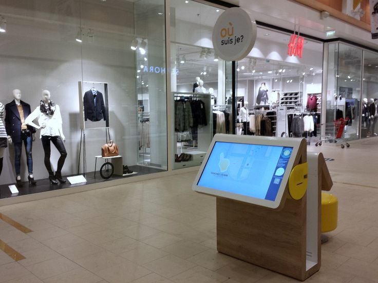 ViaDirect digitalizes Immochan: multitouch wayfinding kiosk and interactive children area at Brétigny-sur-Orge | www.viadirect.com