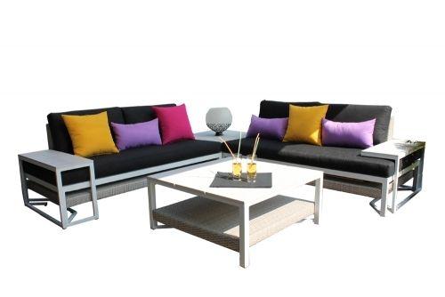 Leco Modern Style Lounge set - De mooiste tuinartikelen bij Lecoshop.nl! Hoppashops.nl