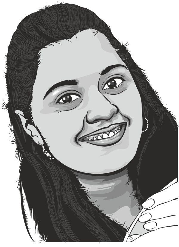 digital portrait by Manish Prajapati, via Behance