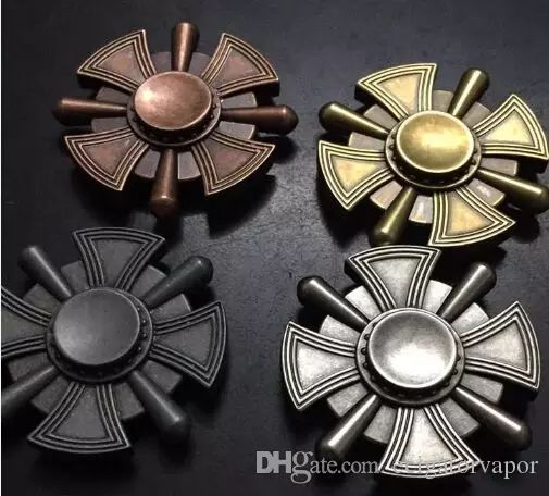 Eclusive Sale! In Stock! Antique Finish Zinc Fidget Spinner/Ctoom Hand Spinner, R188 Bearing Spinning Up To 3 4 Minutes Military Cross Shape Custom Stress Toy Stress Reliever Products From Ecigatorvapor, $3.52  Dhgate.Com