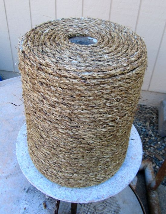Rope Wrapped Concrete Base. Good Suggestions In The Tutorial, Too. Patio  Umbrella StandUmbrella ...