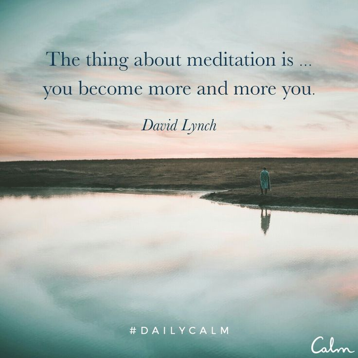 Daily calm Meditation authenticity, question your habits and thinking with why, be you not your parents