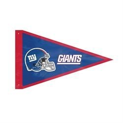 New York Giants NY Giant Pennant Flag