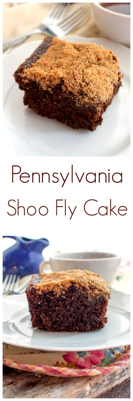 Pennsylvania Shoo Fly Cake via…