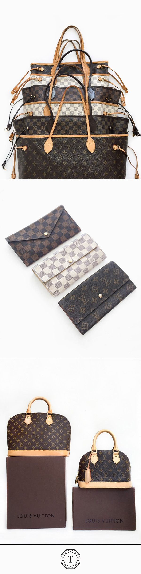 Discover: Thousands upon thousands gorgeous, authentic pre-owned Louis Vuitton pieces. Score a treasure from another woman's closet *and* an amazing deal - up to 90% off. Only on Tradesy.