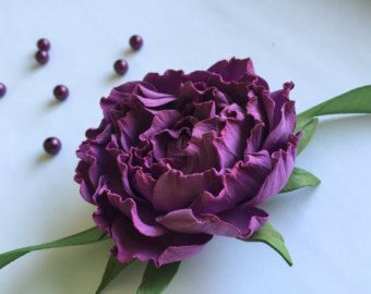 Pulsera flor rosa flor pulsera de Dama de honor morado de Dama de honor flor púrpura pulsera púrpura púrpura puesta de sol rosa pulsera