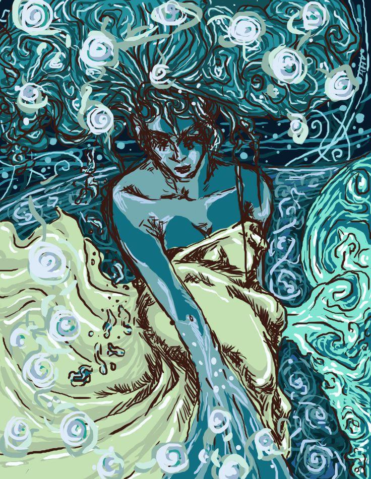 Alessia V, 'Water', digital 2013.