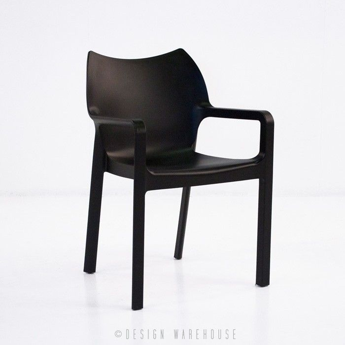 Cape Cafe Dining Chair (Black) | Design Warehouse NZ