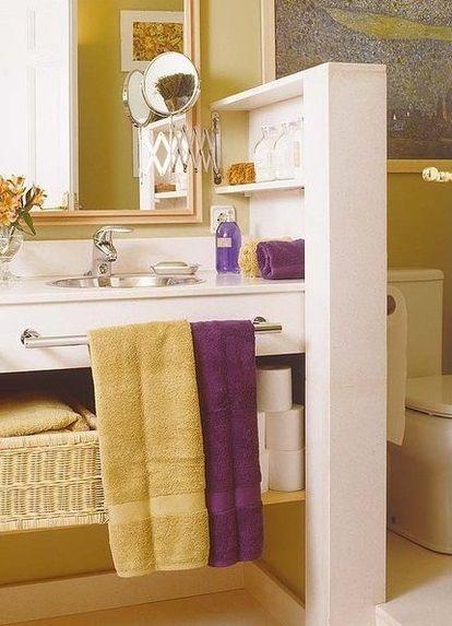Decoracion Baño Rectangular:baño rectangular con superficie de 4 m2Ideas para bañosRectangular