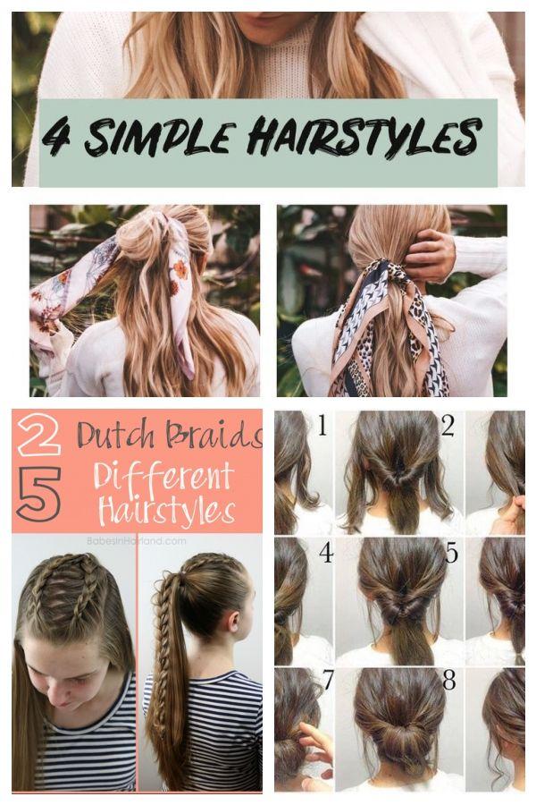 Einfache Einfache Frisuren 5 Minuten Frisuren Schnelle Frisuren Frisuren Fur Einfachefrisuren Easyhairstylesboho Hair Styles Beauty Hair