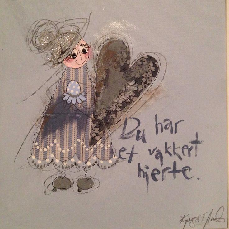 Du har et vakkert hjerte.