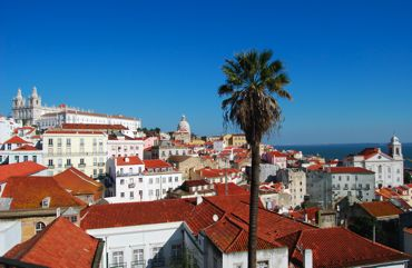 Lisbon is all about the Miradouros, the viewpoints from which you can gaze with wonder at the city all around you.