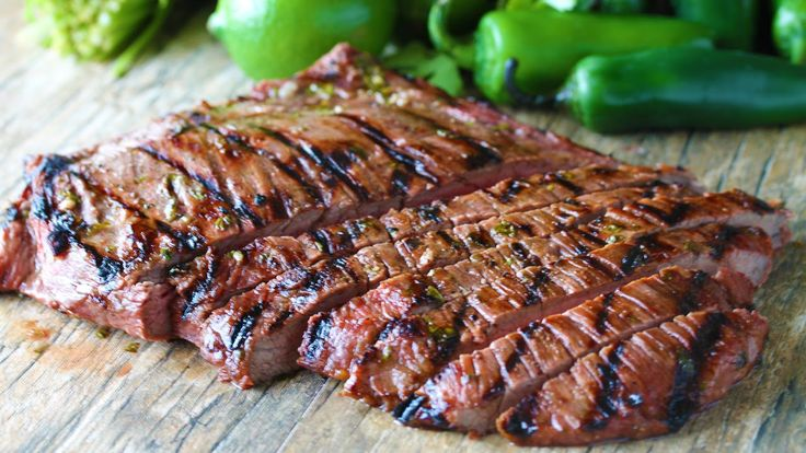 Marinated flank steak is grilled to perfection for the best Authentic Carne Asada. This tender, grilled meat is full of authentic Mexican flavor. ______________