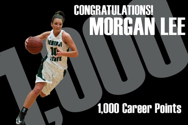 BSU senior Morgan Lee netted her 1,000 career point Nov. 16, 2013. She not only becomes the 16th player in women's hoops history to achieve the feat, she follows her father, David Lee, who posted 1,000 points as a member of the BSU men's team in the mid 1980s.