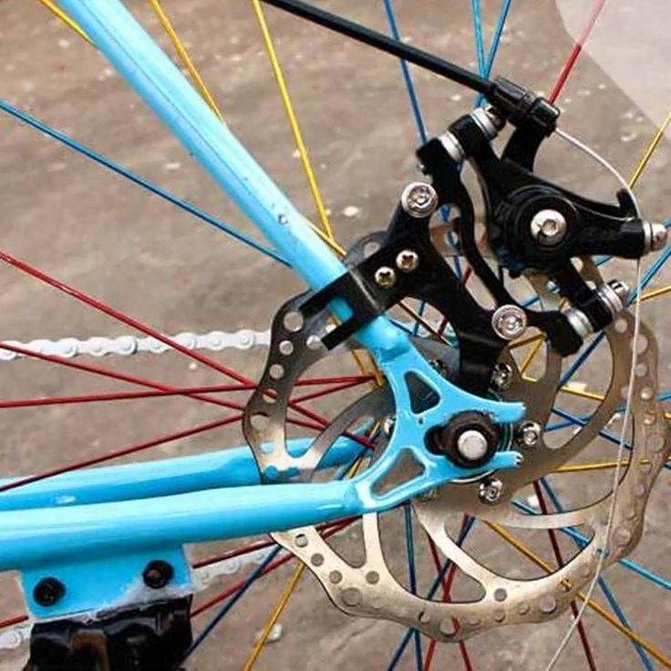 Bike Disc Brake Bracket Frame Adaptor for 160mm Rotor Bicycle Components  Worldwide delivery. Original best quality product for 70% of it's real price. Buying this product is extra profitable, because we have good production source. 1 day products dispatch from warehouse. Fast &...