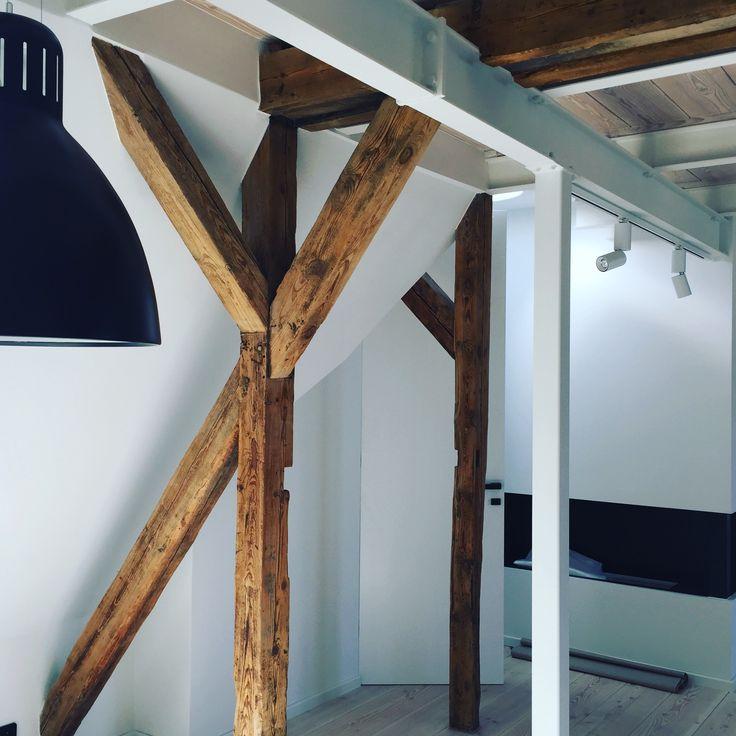 Attic interior/Poznań/renovation/BAUMANN PRACOWNIA PROJEKTOWA/fot. Magda Baumann-Rex