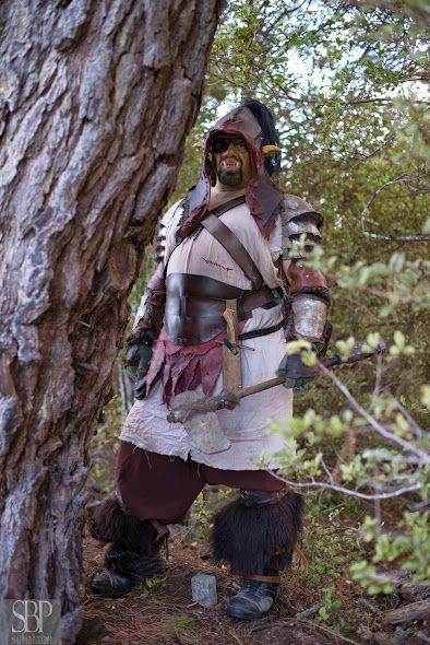 V'Rugga the Orc from AFK web series