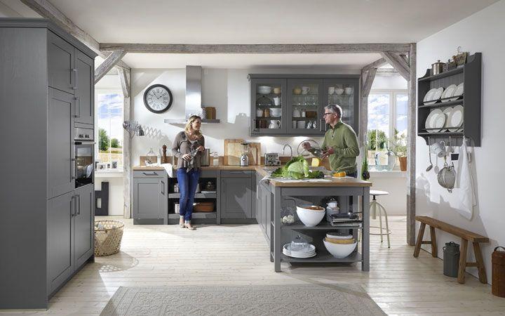 Moderne Landhausküchen - Küchen Brügge