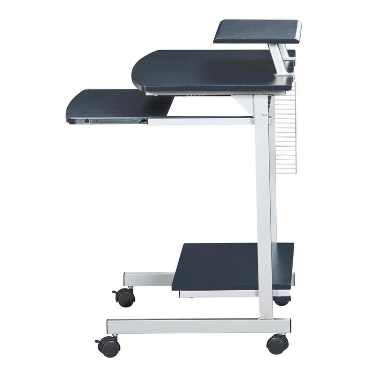 Techni Mobili Multifunction Mobile Computer Desk - The Techni Mobili Multifunction Mobile Computer Desk is an attractive multi-use workstation that's incredibly versatile. You'll use this mobile piece ...