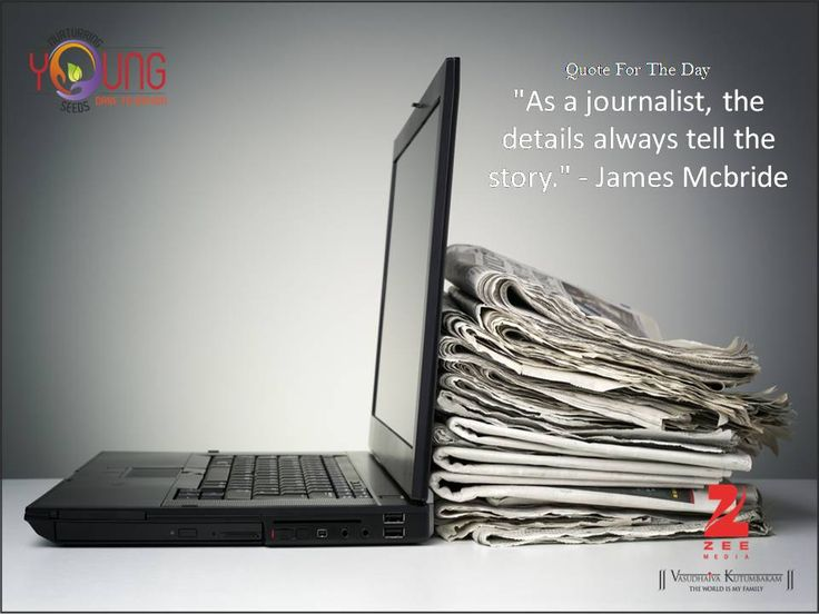 A true #journalist focuses on the details and aims at telling the whole #story. These details are the true story behind a headline and point to the truth. Check our upcoming #journalism #workshop at http://www.nys.co.in/
