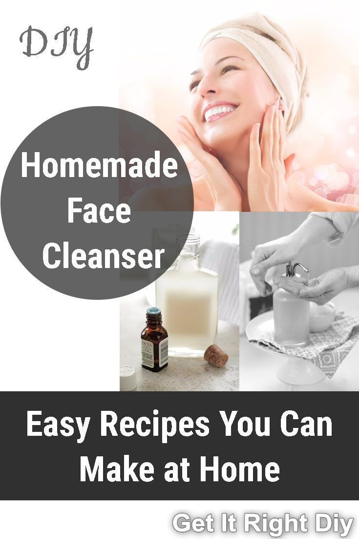 How To Make Your Own Skin Care Products In 2020 Face Cleanser Natural Face Cleanser Best Facial Cleanser