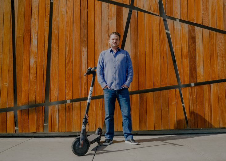 Electric Scooters Are Causing Havoc. This Man Is Shrugging It Off.