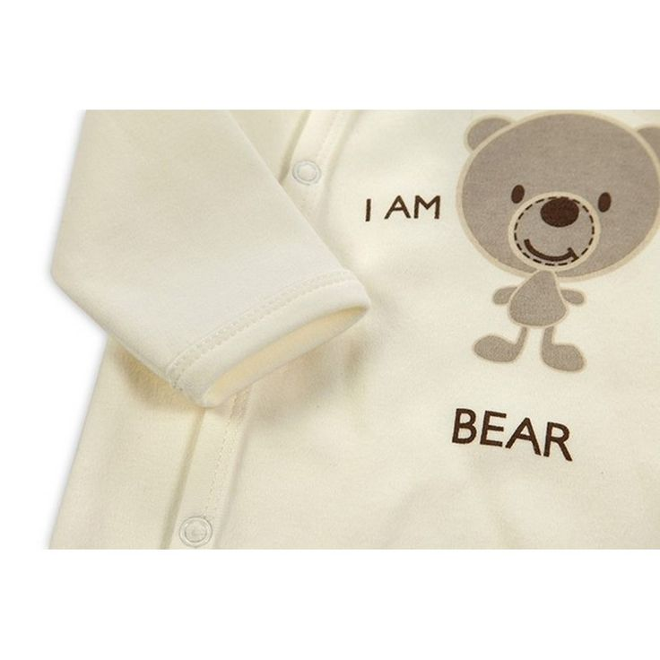 2016 New Style Baby Clothing Cotton Long Sleeve Baby Footies Spring Autumn Infant Jumpsuit Round Collar Baby Sleepers Unisex (4)
